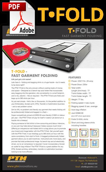 PTM T-Fold brochure pdf download