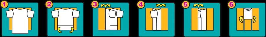 PTM Innovations T-Fold instruction diagram